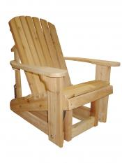 Click to enlarge image  - Adirondack Glider - Glide your day away