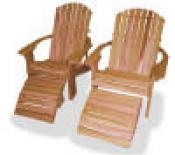 Click to enlarge image  - BIG BOY Adirondack Chair - Our oversized  Adirondack Chair for maximum comfort!